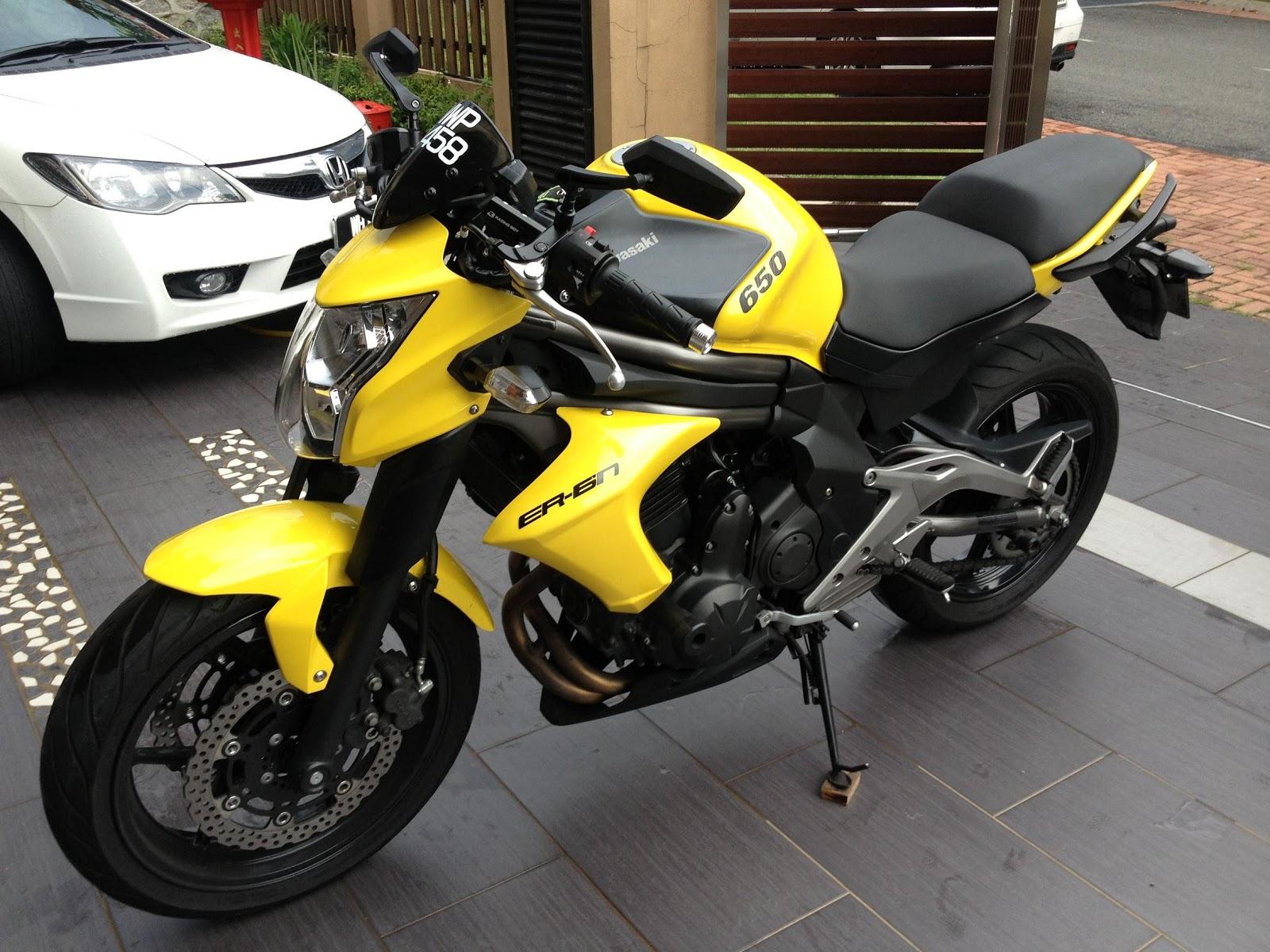 super great sportbikes kawasaki er6n 2012 sold. Black Bedroom Furniture Sets. Home Design Ideas