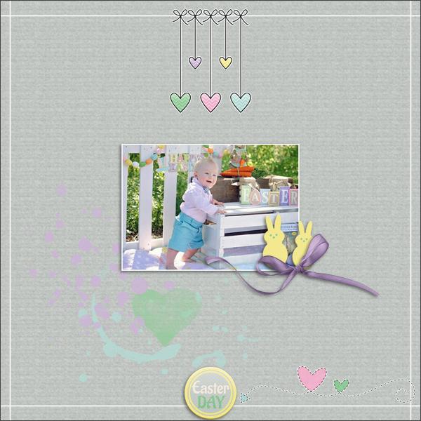 easter day © sylvia • sro 2016 • eggstravaganza • love it scrap it designs