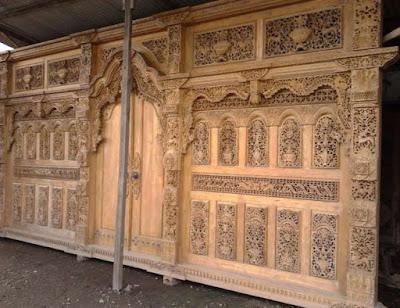 oak front doors