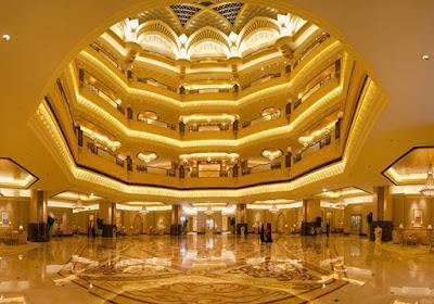 interior hotel emirates palace (hotel termewah di dunia)