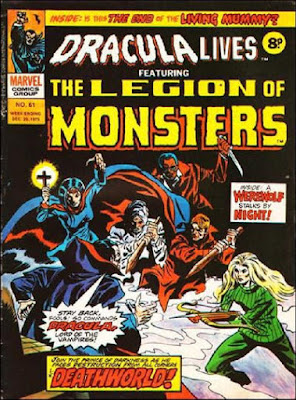 Marvel UK, Dracula Lives #61, Legion of Monsters