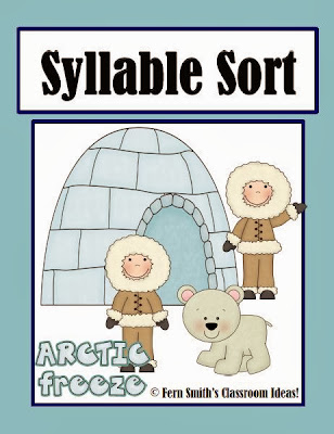 http://www.teacherspayteachers.com/Product/Syllable-Sort-Arctic-Animals-Themed-Center-Game-for-Common-Core-728197