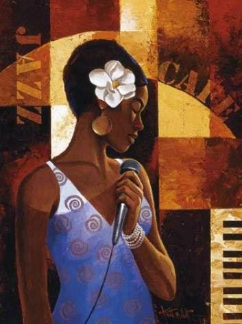 Café com Jazz - Keith Mallett e suas pinturas cheias de charme