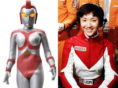 Yullian, satu-satunya Ultraman Wanita yang pernah muncul dalam serial Ultraman
