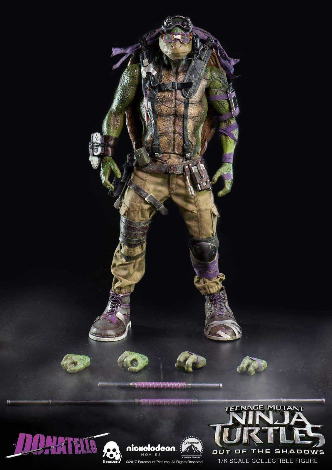 onesixthscalepictures: ThreeZero TMNT Out of the Shadows ...
