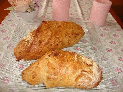 Pan de centeno y variedad de semillas