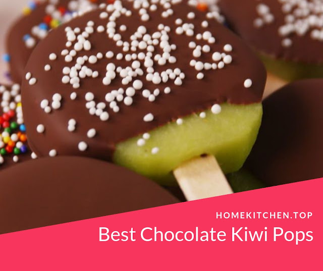 Best Chocolate Kiwi Pops