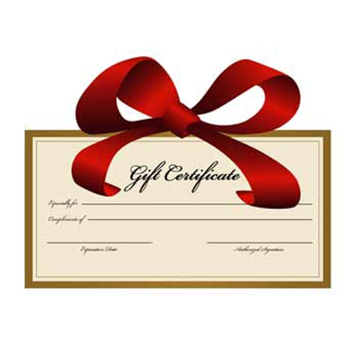 gift certificate for miniatures.com