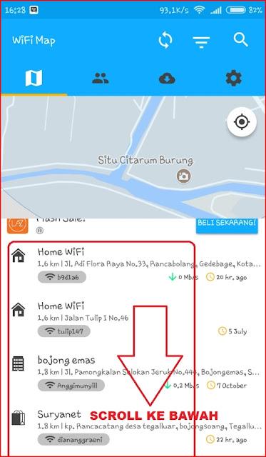Masuk Ke Wifi Terdekat