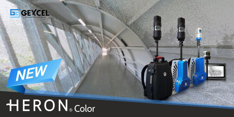 Gexcel - New HERON Indoor Mobile Mapping System
