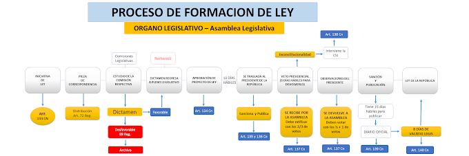El Proceso de Formación de Ley