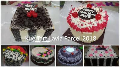 Kue tart Parcel Tahun Baru dari Lavia Sidoarjo Surabaya