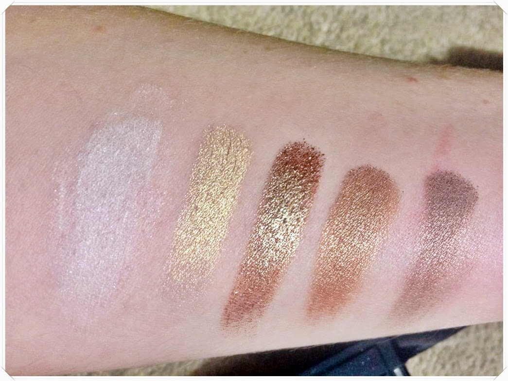 makeup rumours dazzle eyeshadow swatches