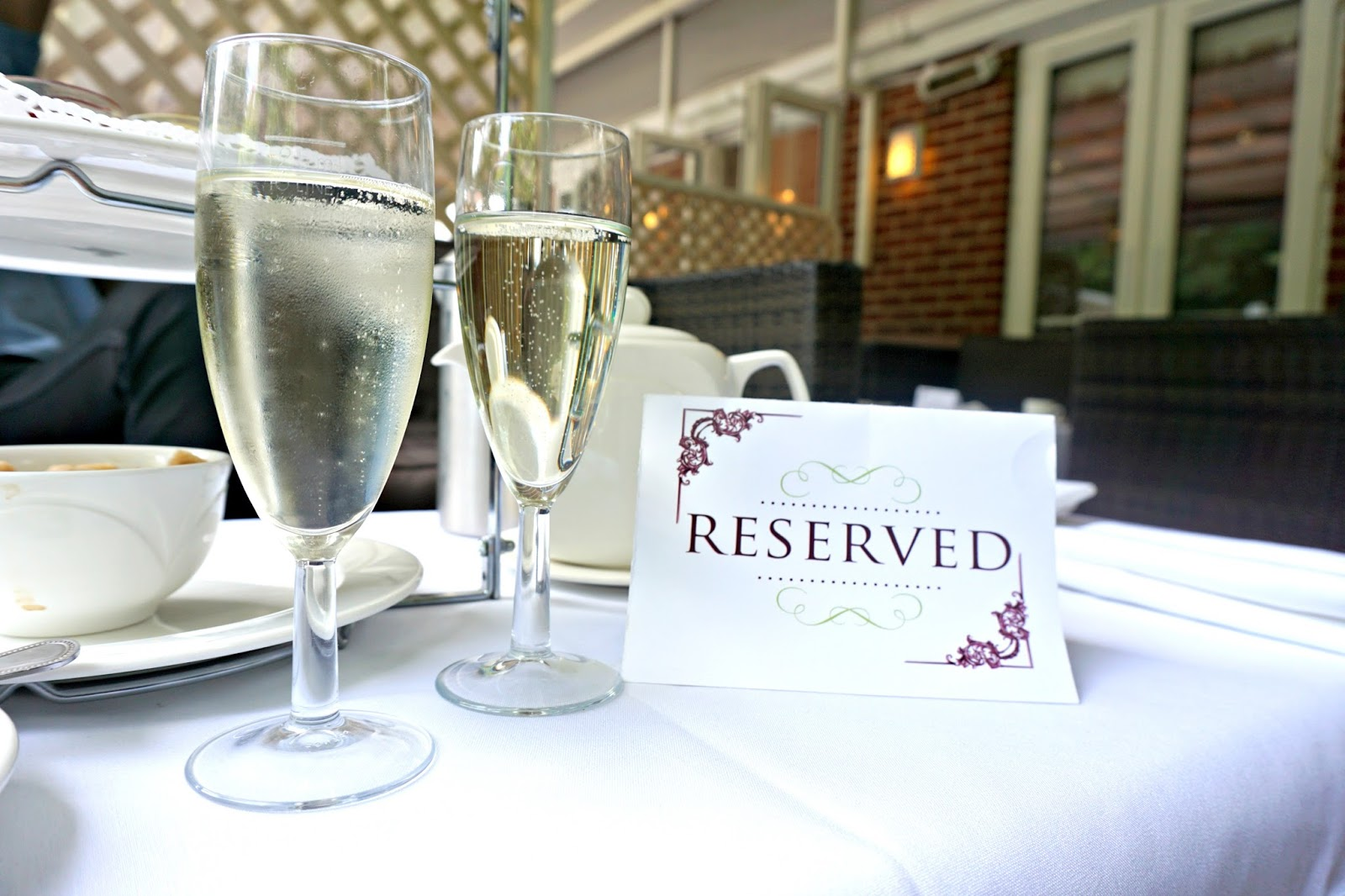 The Milford Hall Hotel Salisbury Wiltshire Stonehenge Amesbury Welcome Prosecco Blog Review