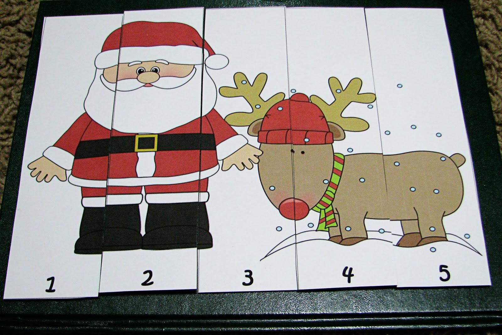Mommy S Little Helper Santa Claus Preschool Theme