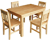 Evelyna Dining Table Set