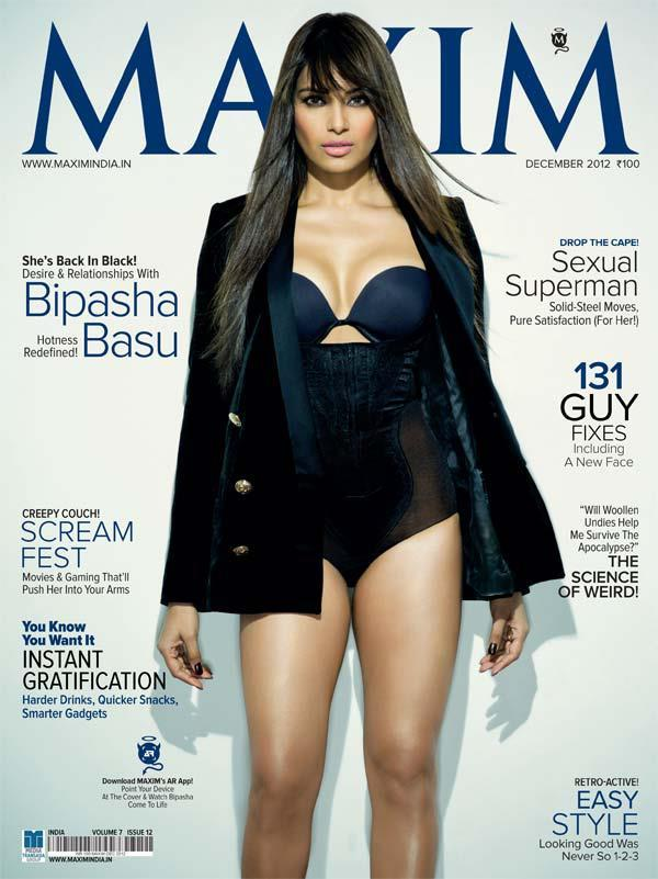 Bipasha Basu Hot Photoshoot Maxim India Dec 2012
