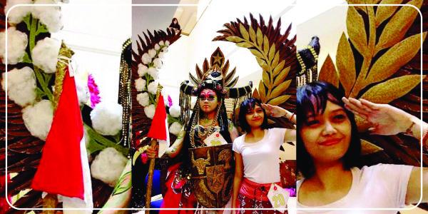 Badarwati dan Karya Busana fantasy miliknya | adipraa.com