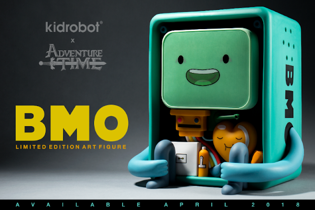 Kidrobot Adventure Time BMO Art Figure with changing expressions
