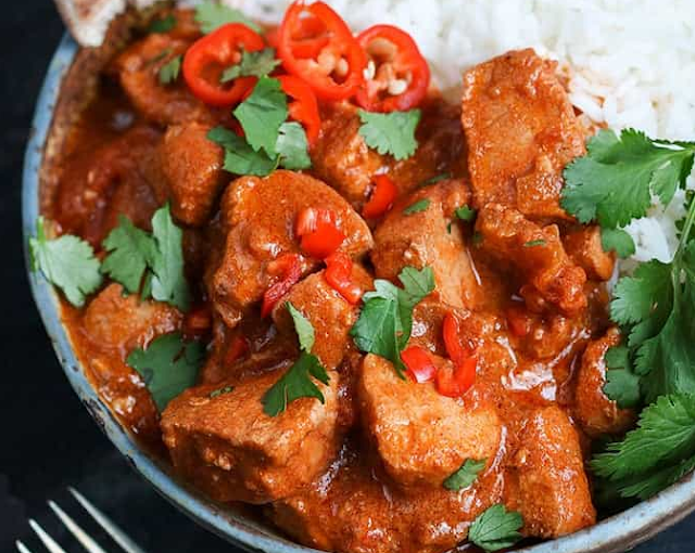 Slow Cooker Spicy Chicken Curry Recipe