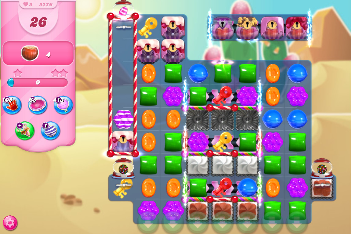 Candy Crush Saga level 5176