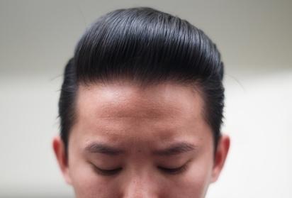 Hasil Pemakaian Minyak Rambut Beaux Heavy Pomade Kilau Rendah Kekuatan Tinggi