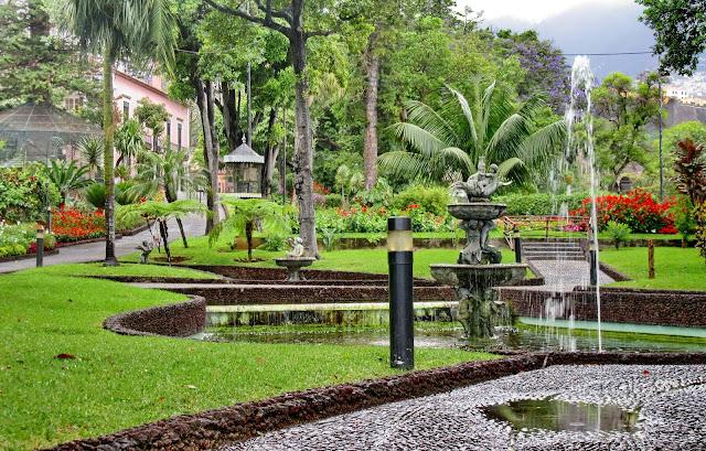 jardins da Quinta Vigia