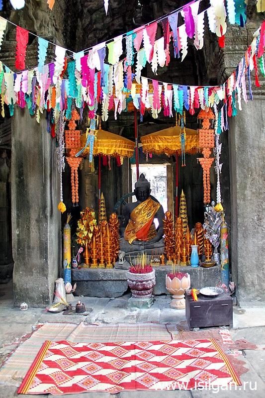 Храм Бантей Кдей (Prasat Banteay Kdei). Камбоджа