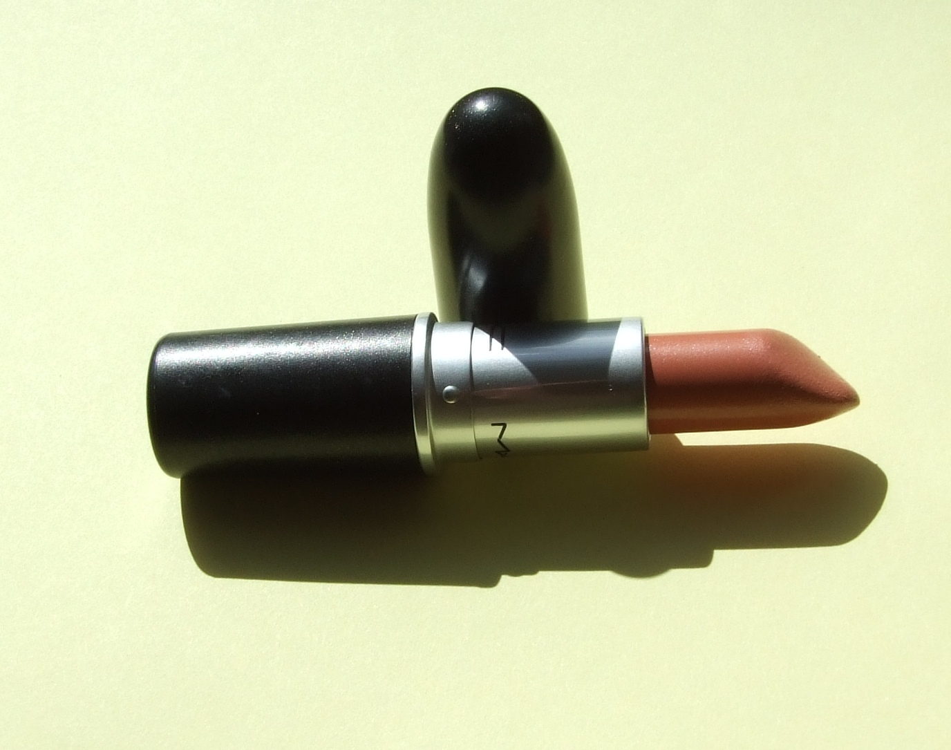 MAC Shy Girl Lipstick - Review | Girls lipstick, Mac shy girl, Lipstick review