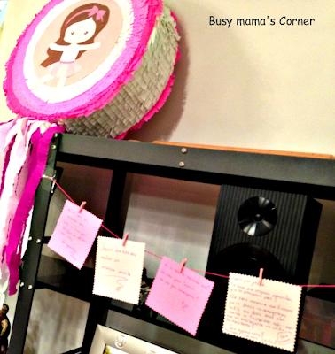 Μια μπουγάδα ευχών για baby shower