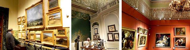 Galeria de arte do Palazzo Zevallos-Stigliano, em Nápoles