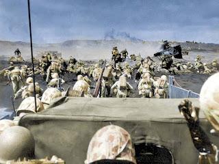 Foto-Foto Berwarna Perang Dunia II