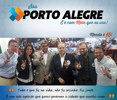 Marchezan ou Sebastião Melo - Poa Eleições