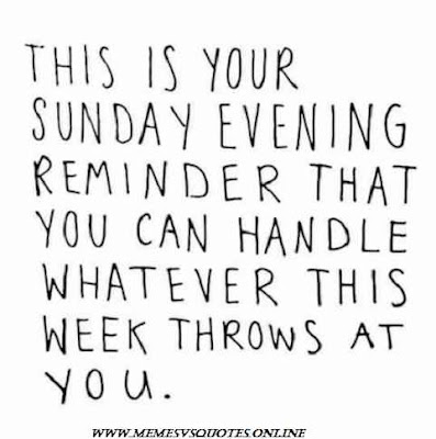 This week throw at you