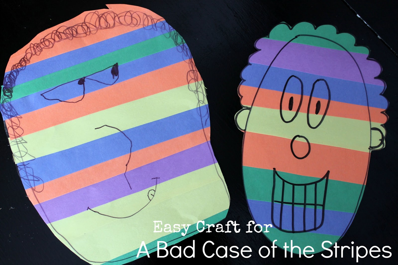 A Bad Case Of The Stripes Craft Virtual Book Club For