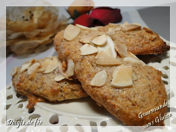 Doigts de fée aux amandes biscuit sans gluten