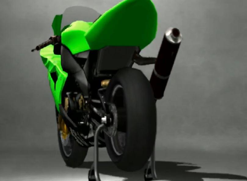 Kawasaki Ninja ZX 10R Racing Modify 2005