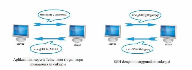 perbedaan ssh dan telnet
