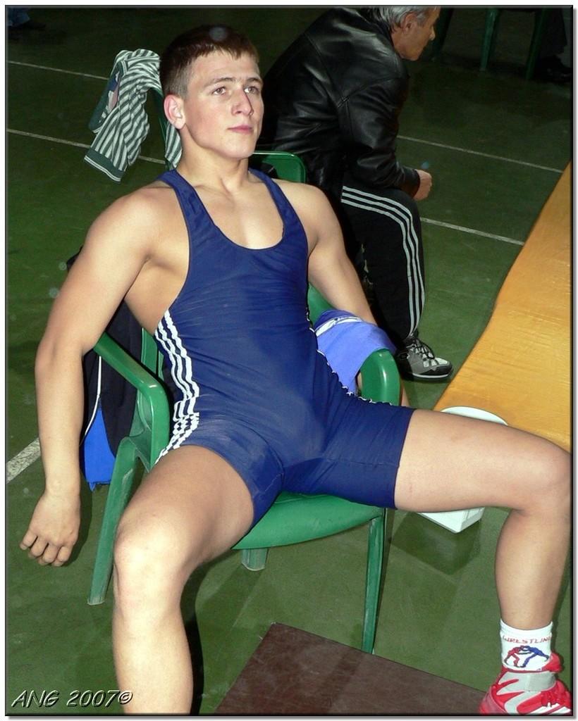 Hot Wrestlers Bulge