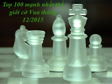 Top 100 chess 12/2015