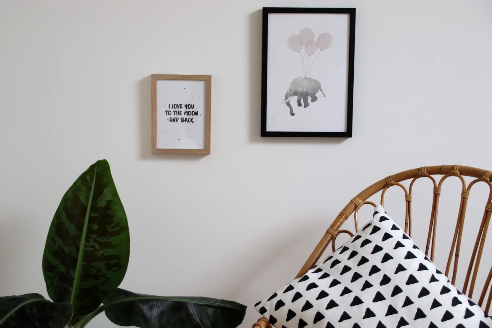 Image Pour Mettre Dans Un Cadre mettre des cadres dans sa déco sans percer les murs - le
