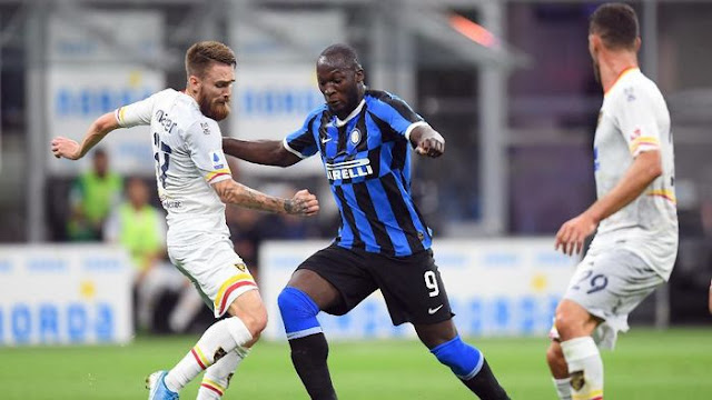 Inter Vs Lecce: Lukaku Langsung Bikin Gol, Nerazzurri Menang Besar