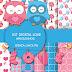 Kit scrap digital Love Amiguinhos freebie