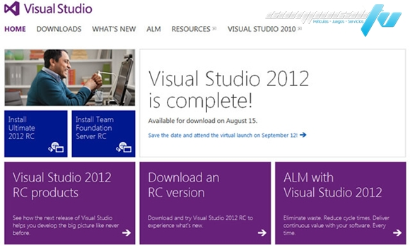 Visual Studio Ultimate 2012 MSDN Español Descargar