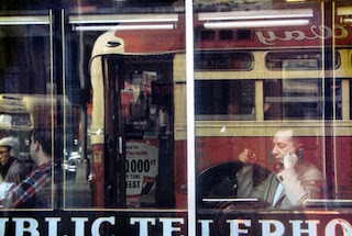 Reflections, photo by Saul Leiter