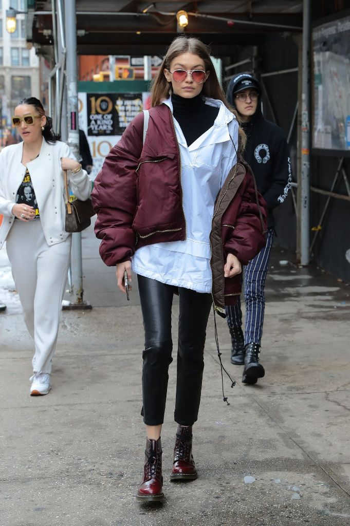 Gigi Hadid – Casual Style Out in New York City