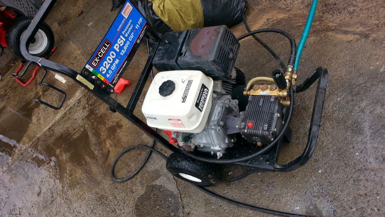 Excell 3100 Commercial 11 Hp Honda