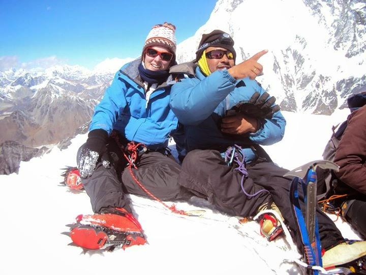 Island peak expeditions with Icicles Adventure Treks