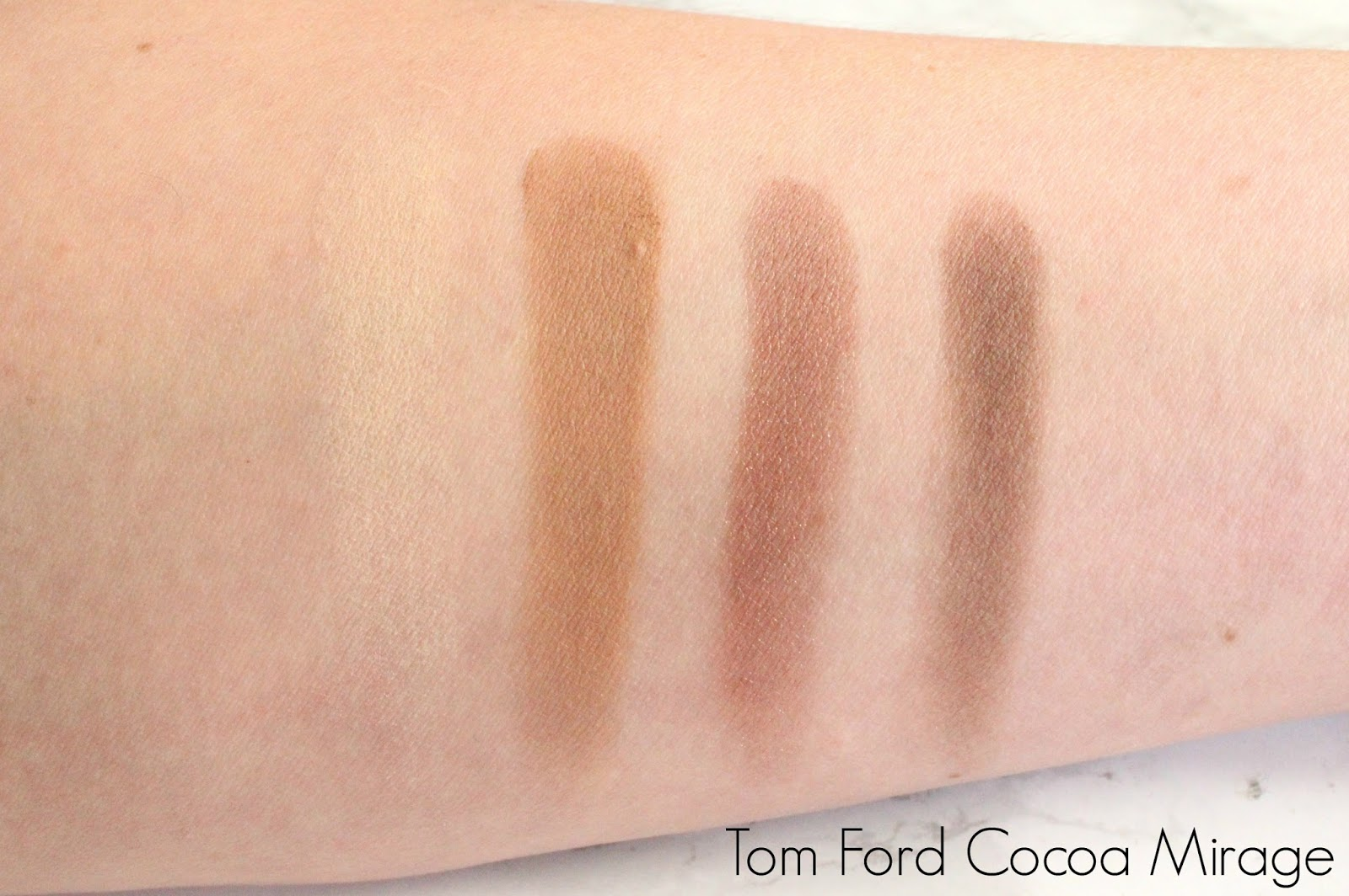 Tom Ford Eyeshadow Quad in Cocoa Mirage Swatch