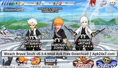Download BLEACH Brave Souls MOD APK FULL